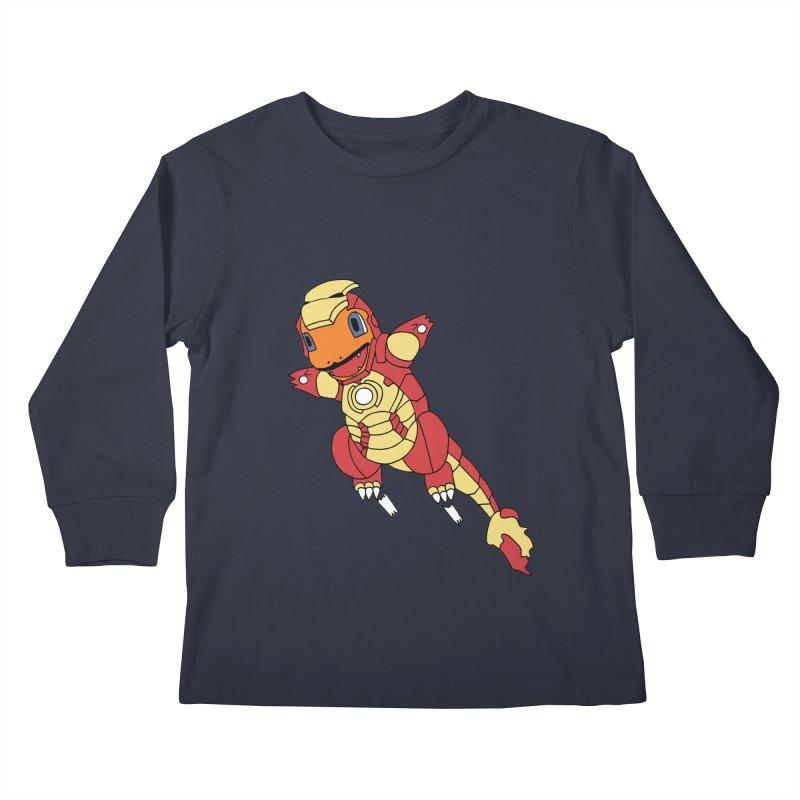 Ironmander Kids Longsleeve T-Shirt by richardtpotter's Artist Shop