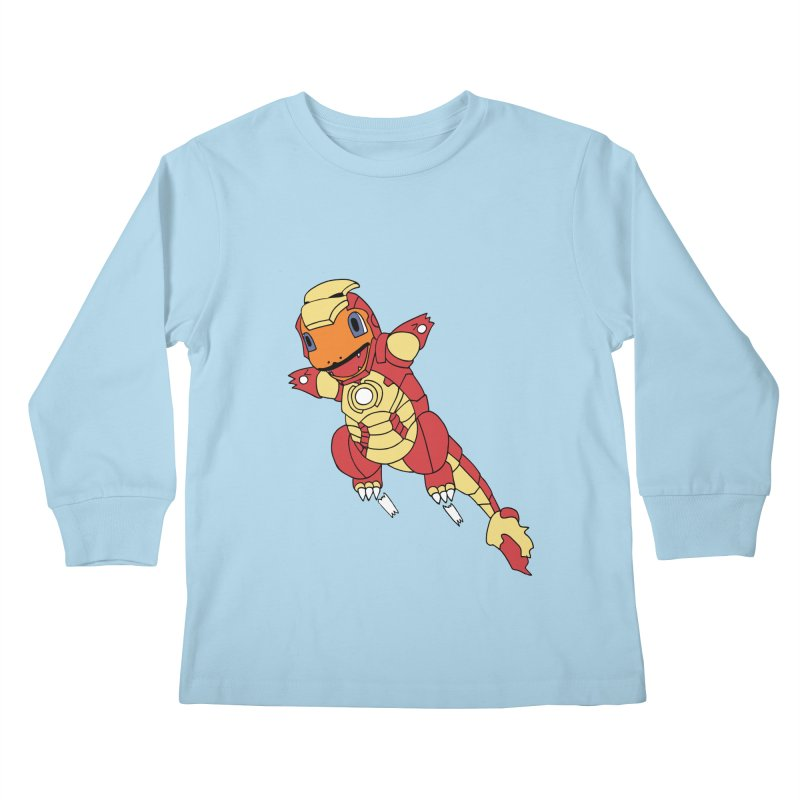 Ironmander Kids Longsleeve T-Shirt by richardtpotter's Artist Shop