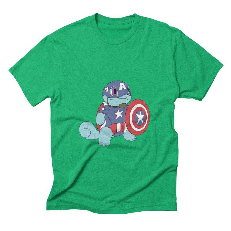 captain squirtle Men's Triblend T-shirt by richardtpotter's Artist Shop