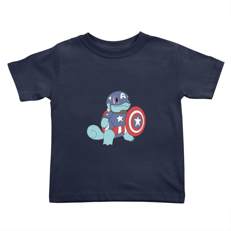 captain squirtle Kids Toddler T-Shirt by richardtpotter's Artist Shop
