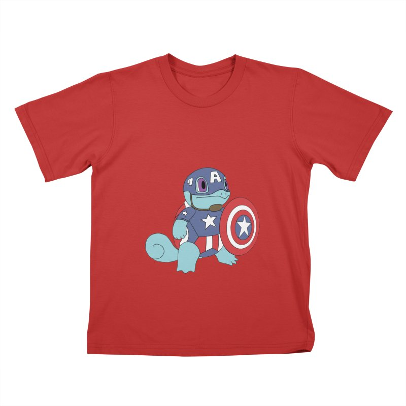 captain squirtle Kids T-Shirt by richardtpotter's Artist Shop