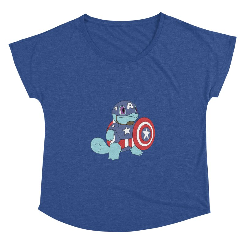 captain squirtle Women's Dolman by richardtpotter's Artist Shop