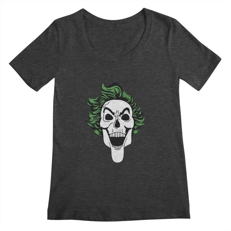 Killing the Joke Women's Scoopneck by richardtpotter's Artist Shop