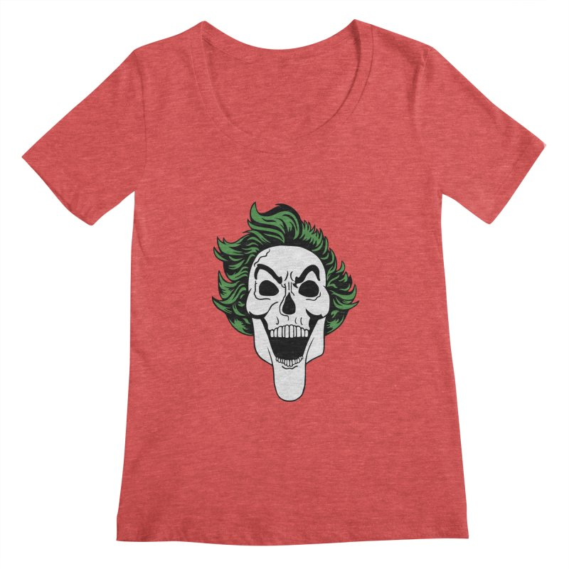 Killing the Joke Women's Scoopneck by richardtpotter's Artist Shop