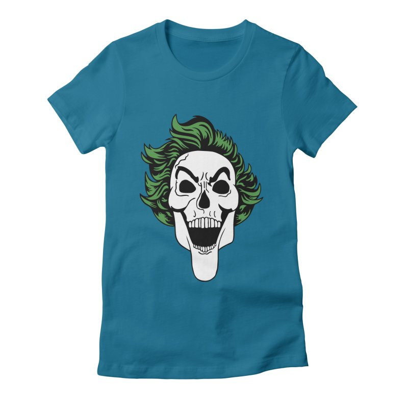 Killing the Joke Women's Fitted T-Shirt by richardtpotter's Artist Shop