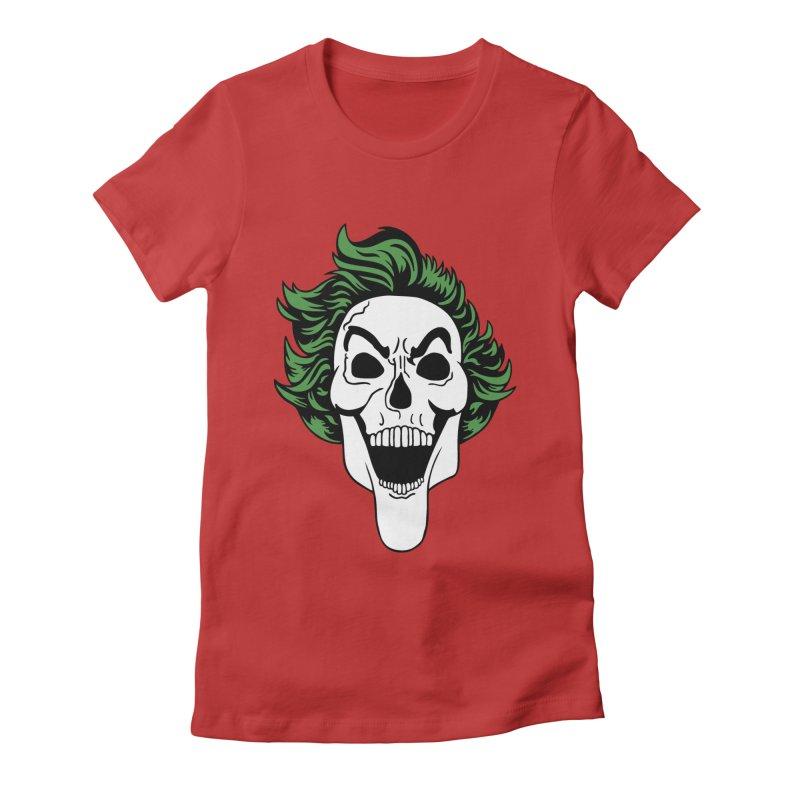 Killing the Joke Women's Fitted T-Shirt by richardtpotter's Artist Shop