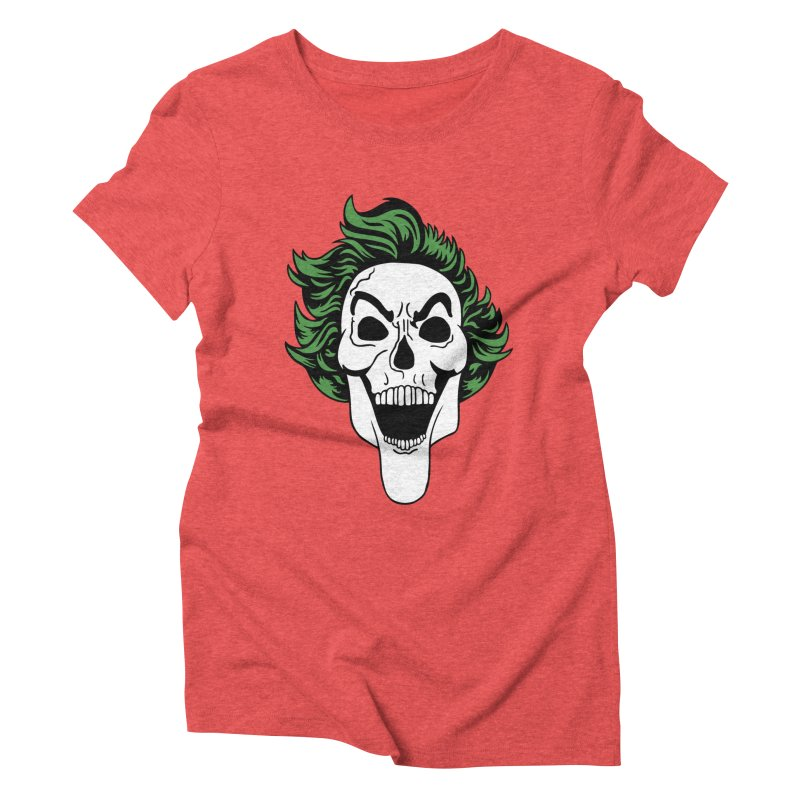 Killing the Joke Women's Triblend T-Shirt by richardtpotter's Artist Shop