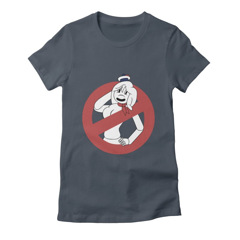 ms. stay pufft Women's Fitted T-Shirt by richardtpotter's Artist Shop