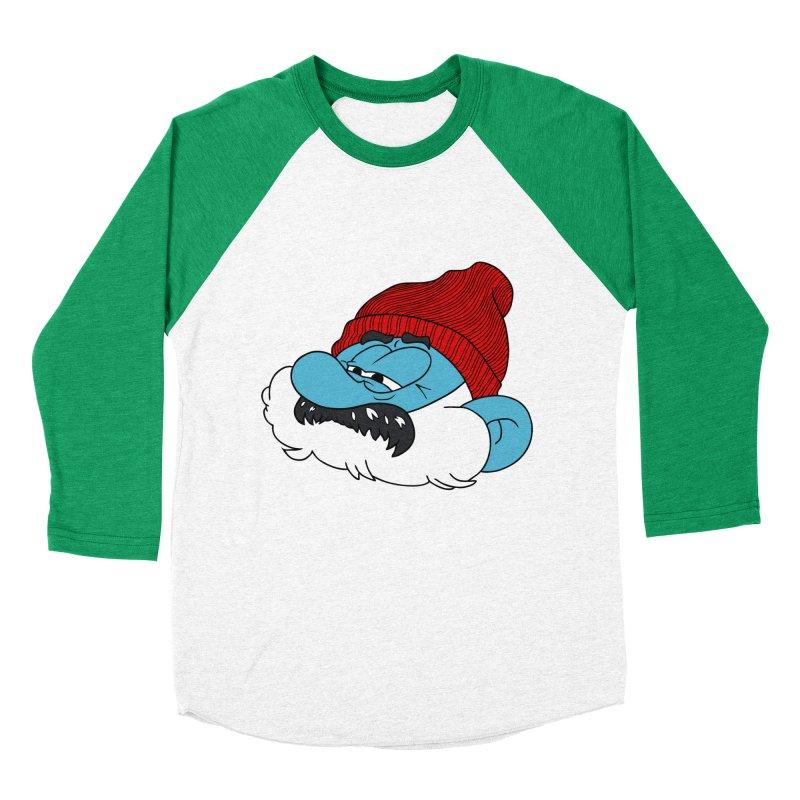 THE LIFE SMURFQUATIC Men's Baseball Triblend T-Shirt by richardtpotter's Artist Shop