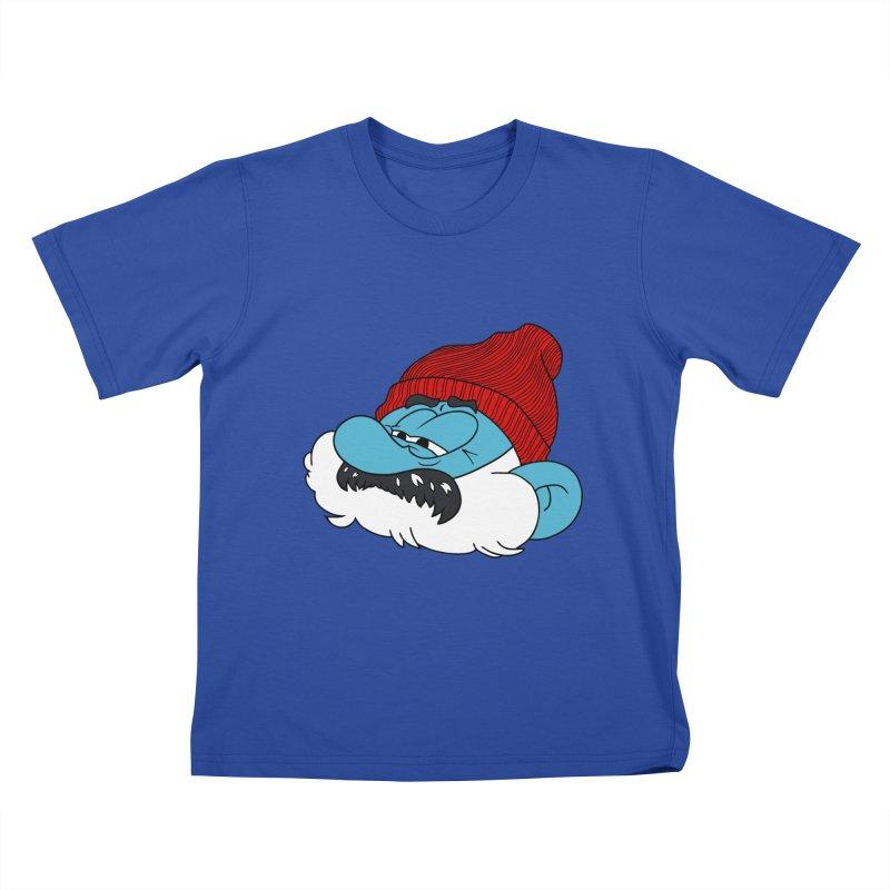 THE LIFE SMURFQUATIC Kids T-shirt by richardtpotter's Artist Shop