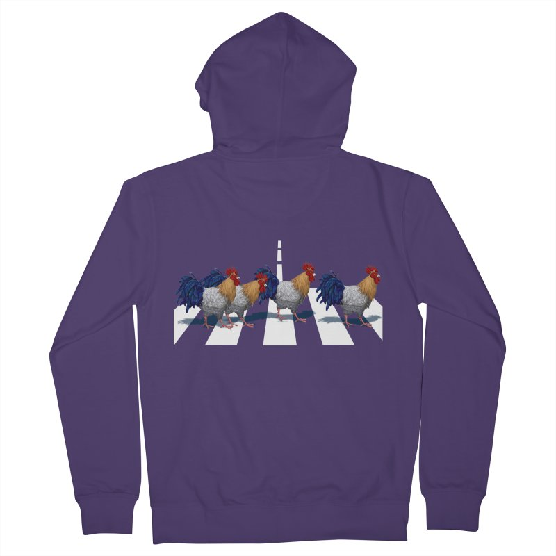 Road Roosters Women's Zip-Up Hoody by richgrote's Shop