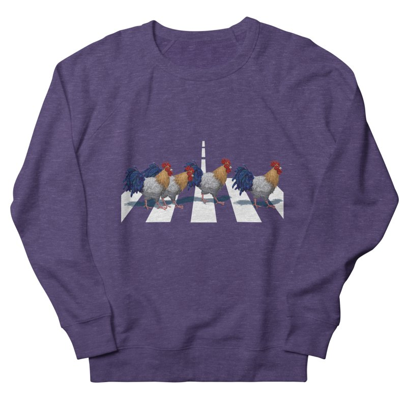 Road Roosters Women's French Terry Sweatshirt by richgrote's Shop