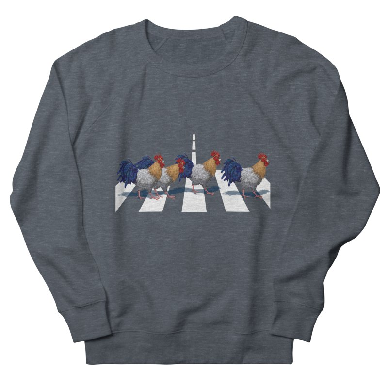 Road Roosters Men's French Terry Sweatshirt by richgrote's Shop