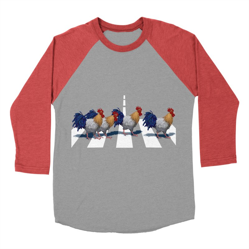 Road Roosters Men's Baseball Triblend T-Shirt by richgrote's Shop