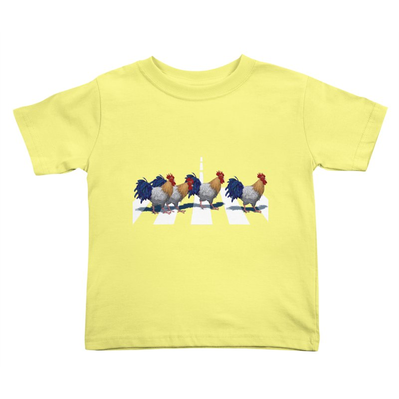 Road Roosters Kids Toddler T-Shirt by richgrote's Shop