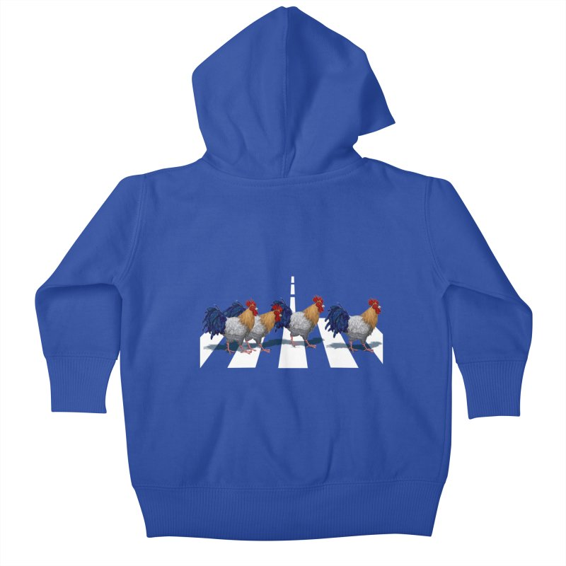 Road Roosters Kids Baby Zip-Up Hoody by richgrote's Shop