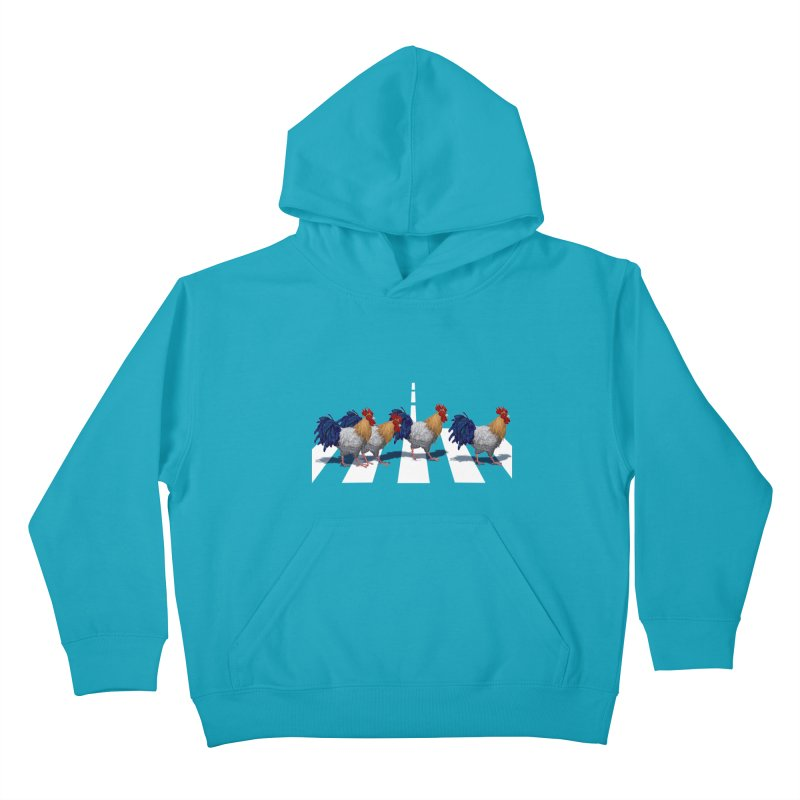 Road Roosters Kids Pullover Hoody by richgrote's Shop