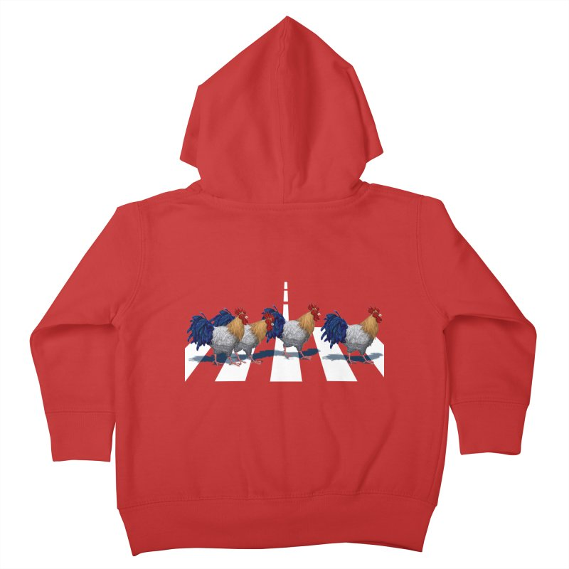 Road Roosters Kids Toddler Zip-Up Hoody by richgrote's Shop