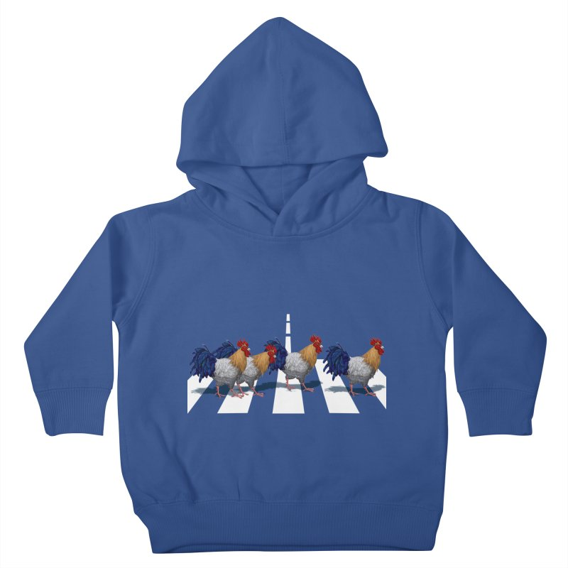 Road Roosters Kids Toddler Pullover Hoody by richgrote's Shop