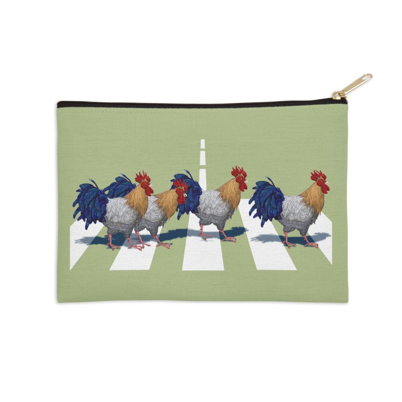 Road Roosters Accessories Zip Pouch by richgrote's Shop