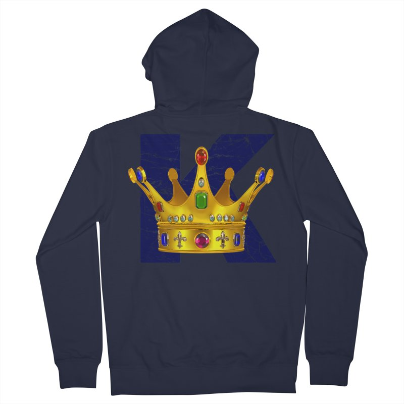 King Women's Zip-Up Hoody by richgrote's Shop