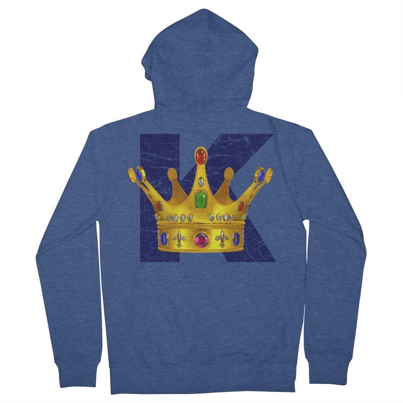 King Men's Zip-Up Hoody by richgrote's Shop
