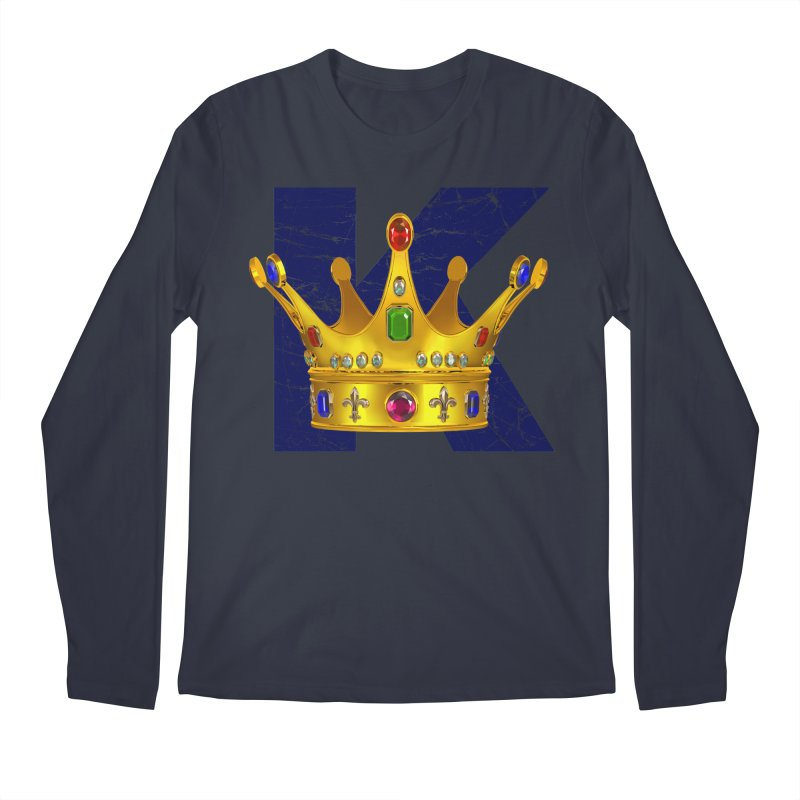 King Men's Regular Longsleeve T-Shirt by richgrote's Shop