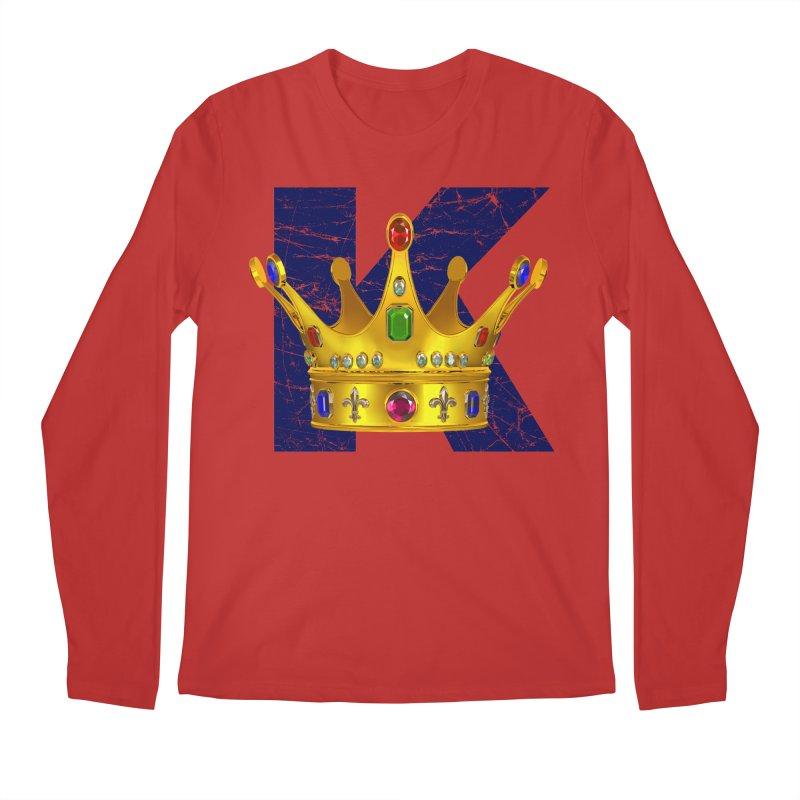 King Men's Longsleeve T-Shirt by richgrote's Shop