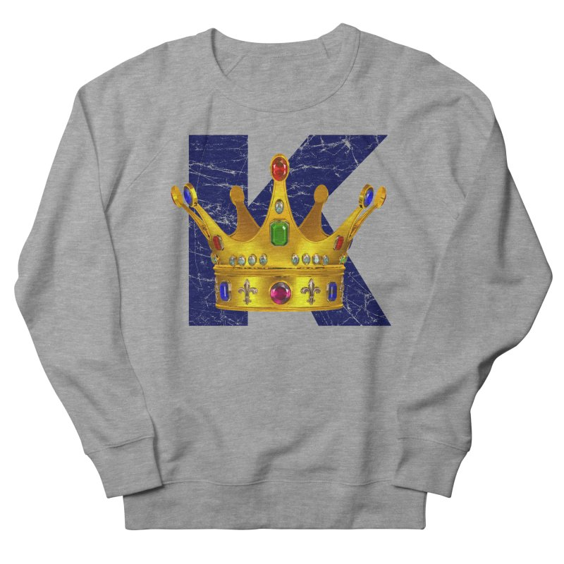 King Women's French Terry Sweatshirt by richgrote's Shop