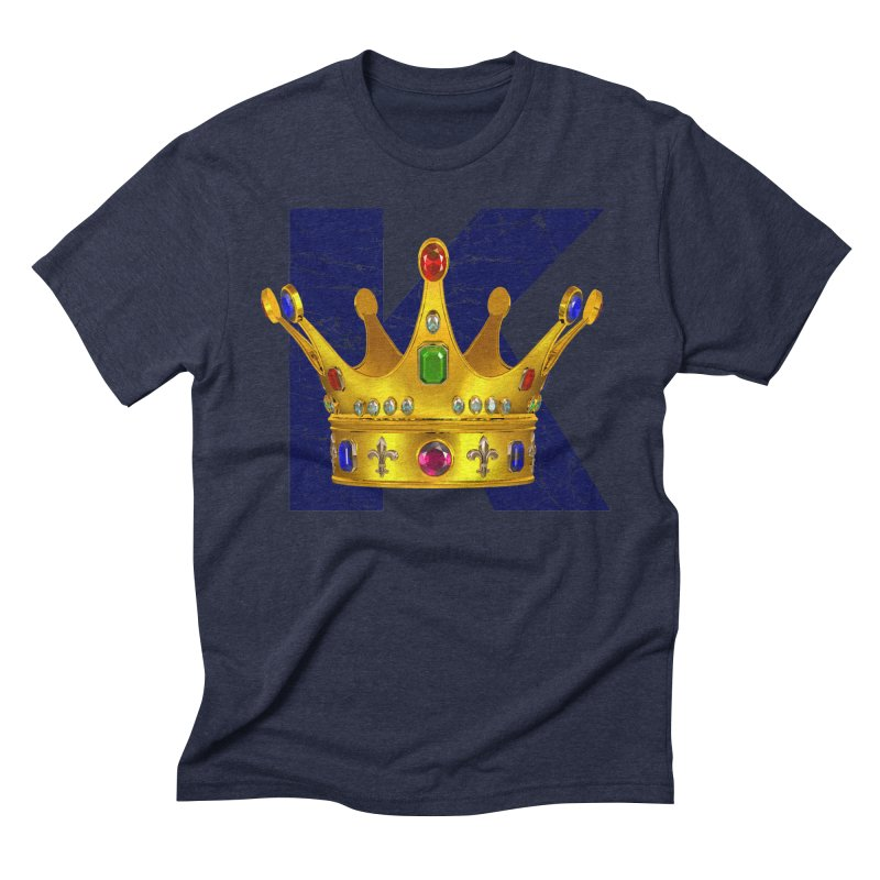King Men's Triblend T-Shirt by richgrote's Shop