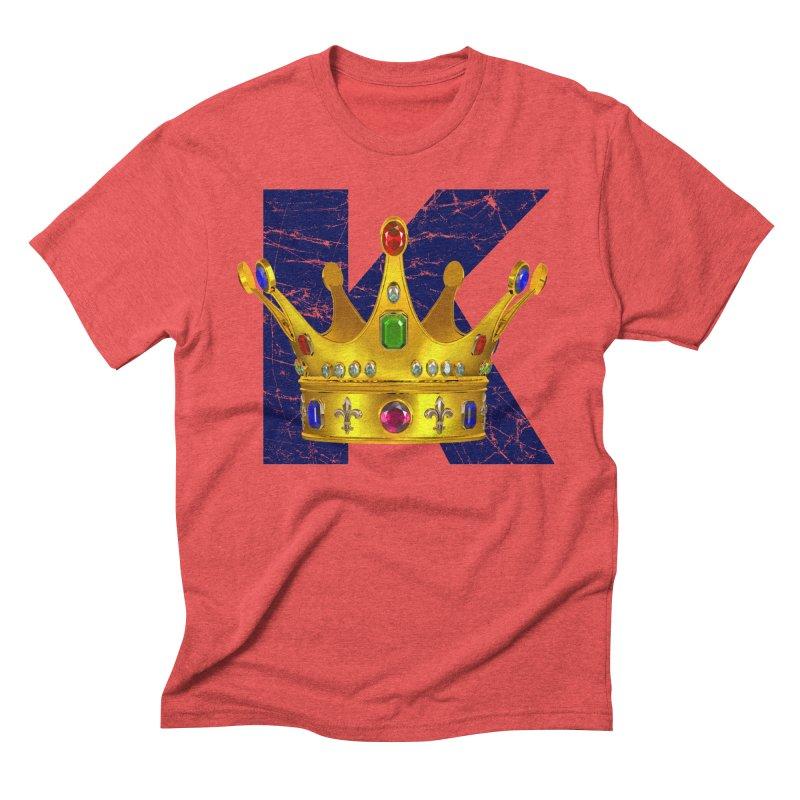 King Men's Triblend T-Shirt by richgrote's Shop
