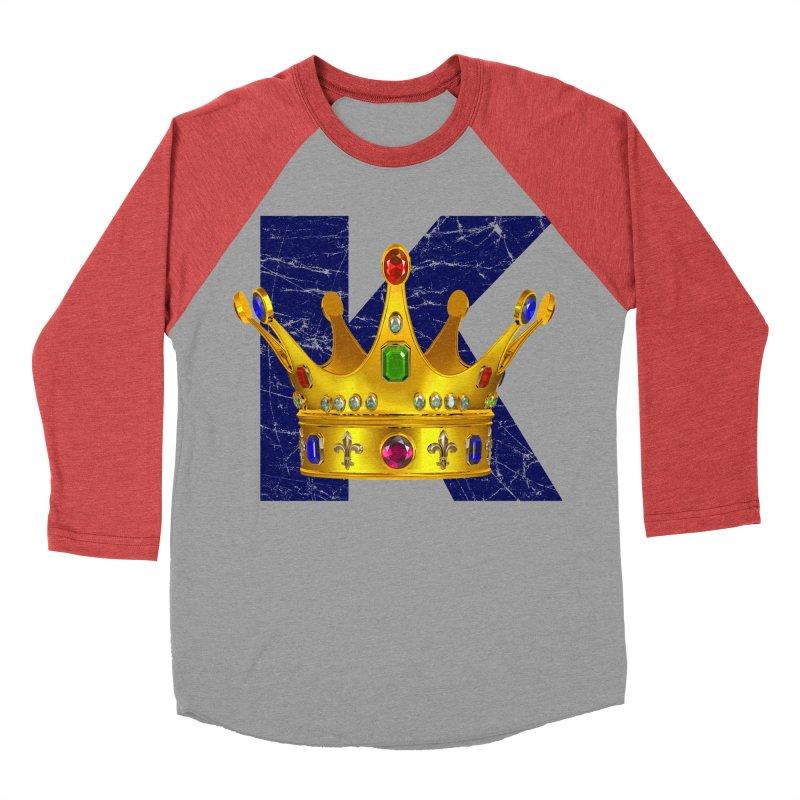 King Men's Baseball Triblend T-Shirt by richgrote's Shop
