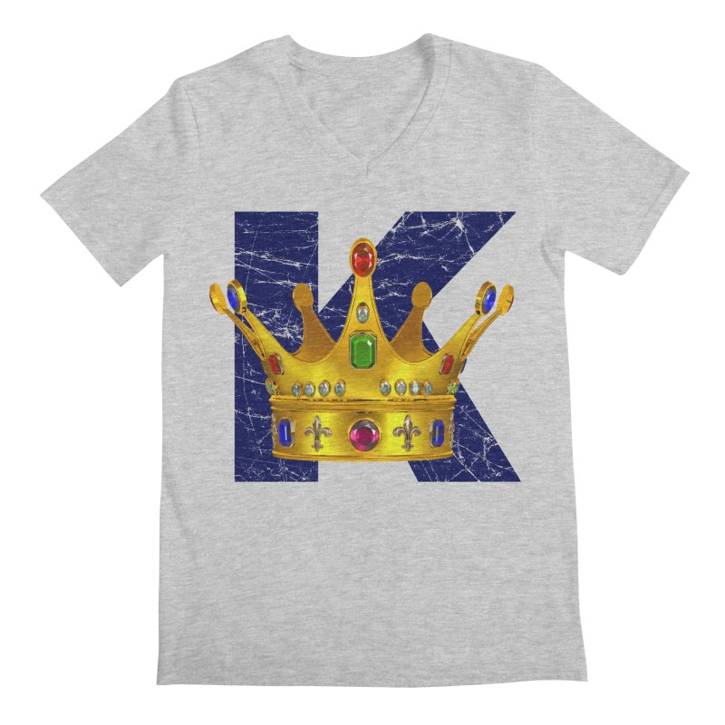 King Men's Regular V-Neck by richgrote's Shop
