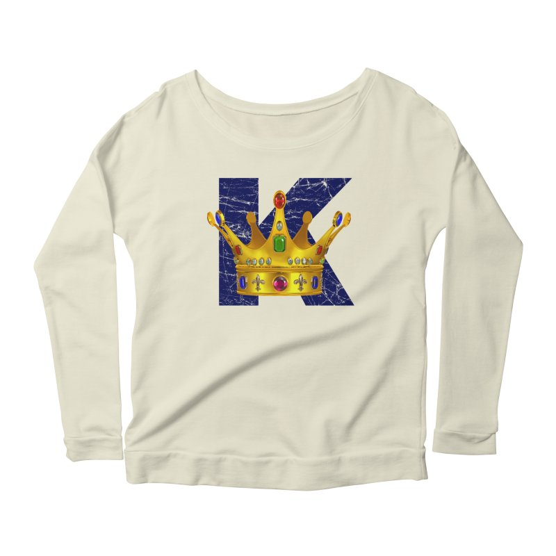 King Women's Scoop Neck Longsleeve T-Shirt by richgrote's Shop