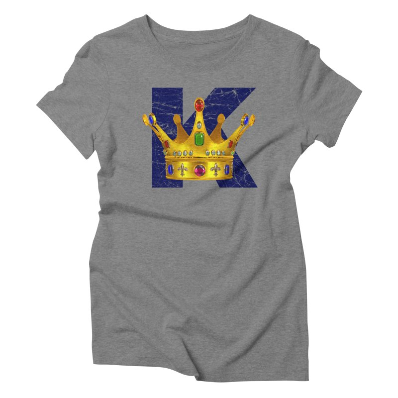 King Women's Triblend T-Shirt by richgrote's Shop