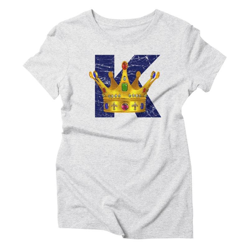 King Women's Triblend T-Shirt by richgrote's Shop