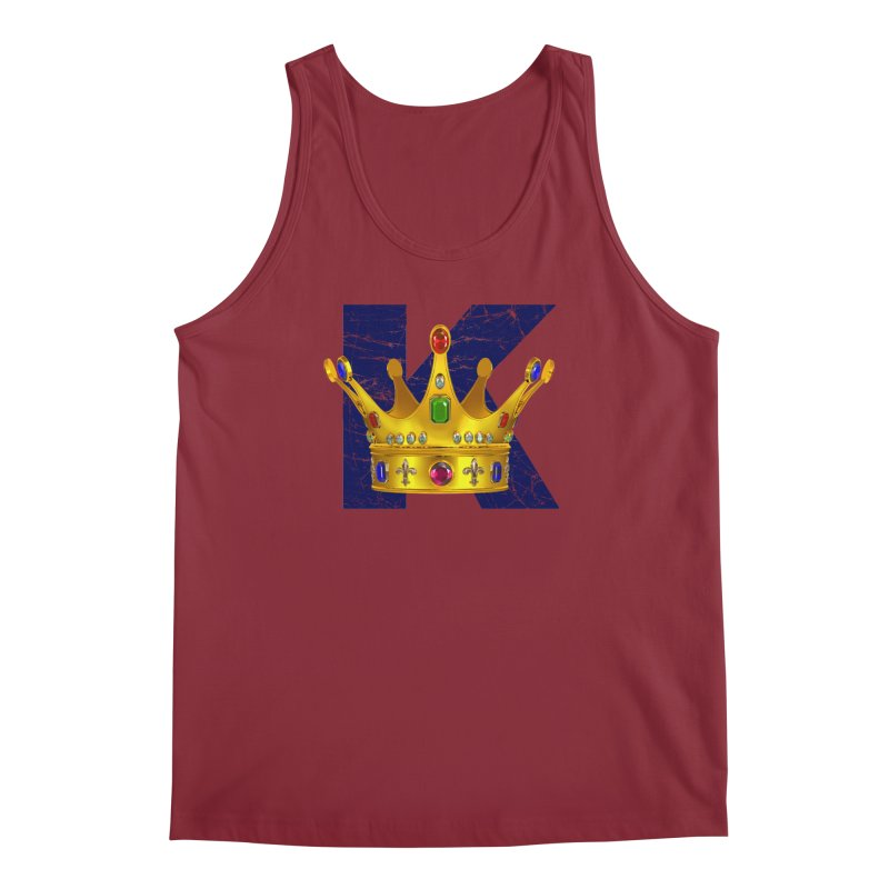 King Men's Tank by richgrote's Shop