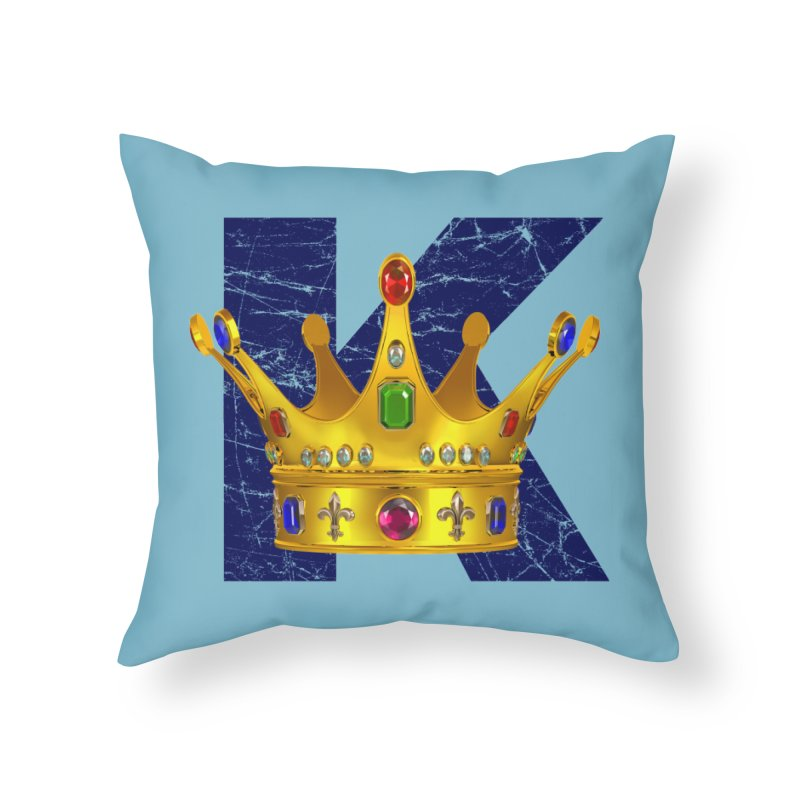King Home Throw Pillow by richgrote's Shop