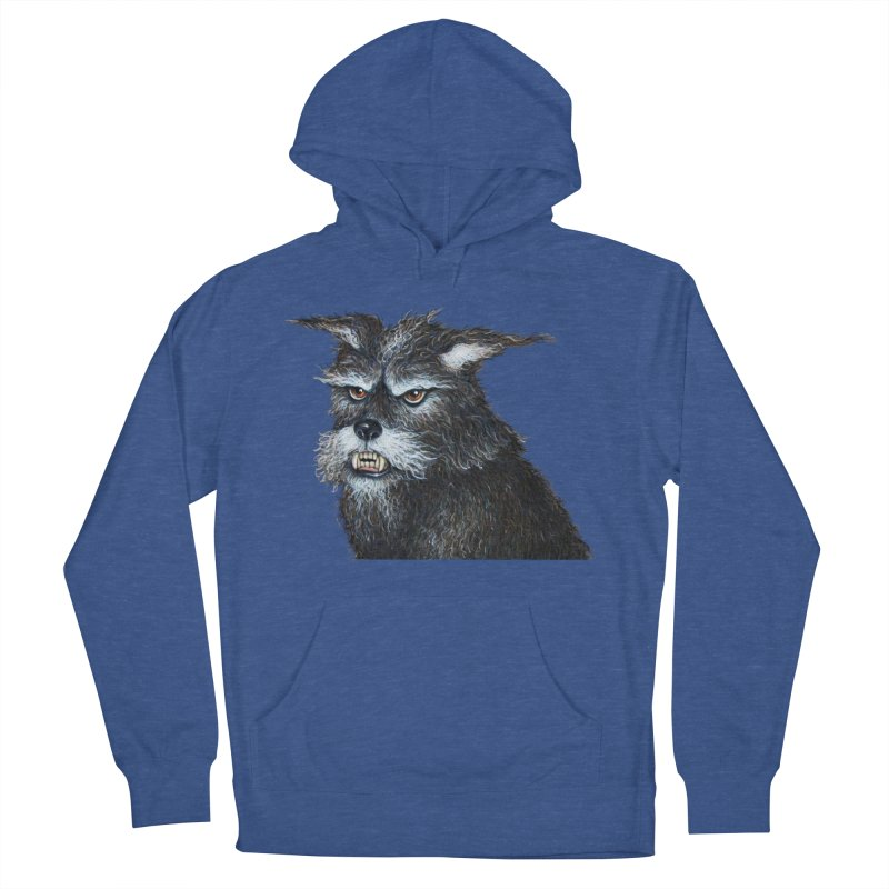 Mad Dog Men's French Terry Pullover Hoody by richgrote's Shop