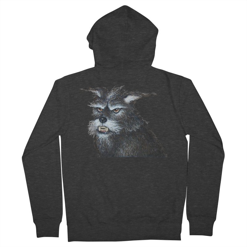 Mad Dog Women's Zip-Up Hoody by richgrote's Shop