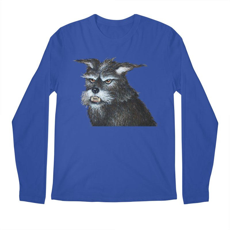 Mad Dog Men's Longsleeve T-Shirt by richgrote's Shop