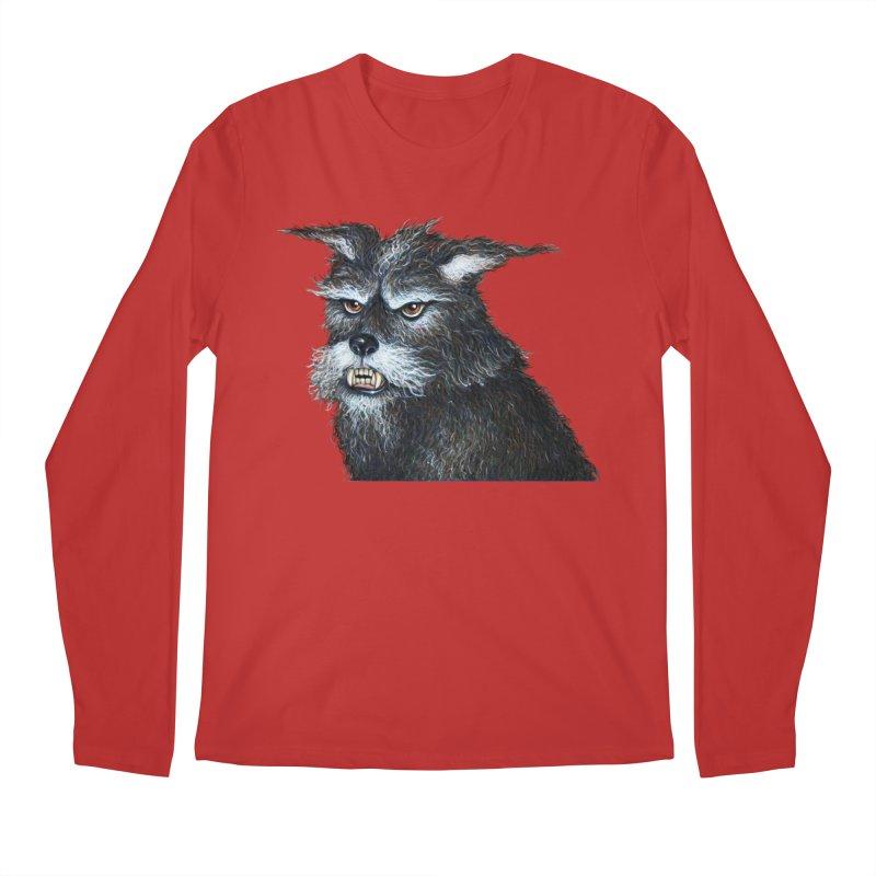 Mad Dog Men's Regular Longsleeve T-Shirt by richgrote's Shop