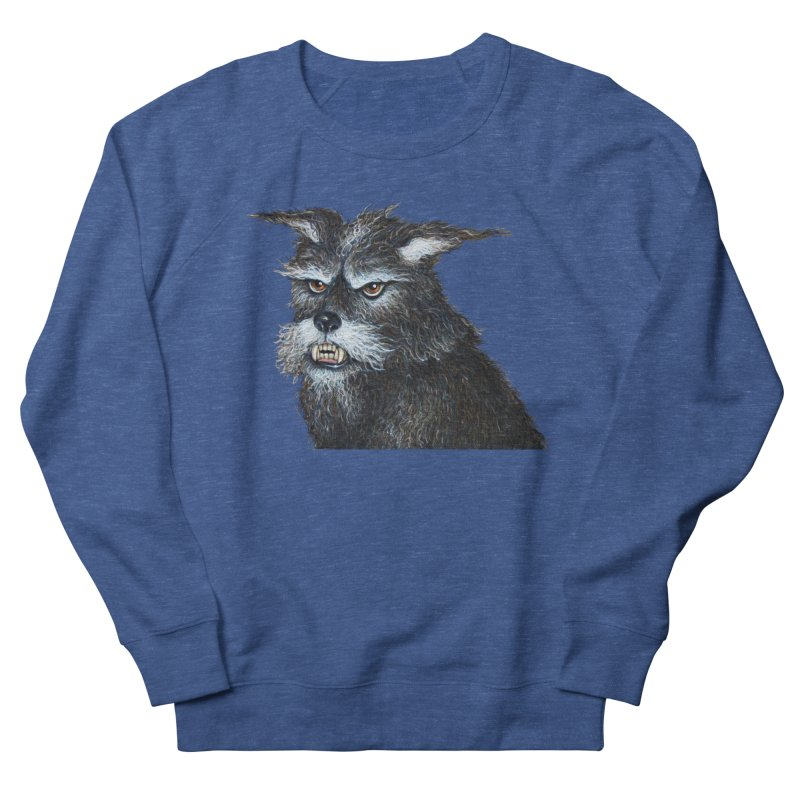 Mad Dog Women's French Terry Sweatshirt by richgrote's Shop
