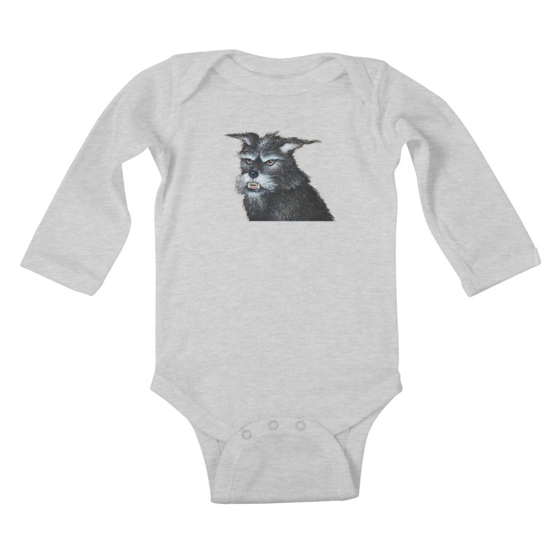 Mad Dog Kids Baby Longsleeve Bodysuit by richgrote's Shop
