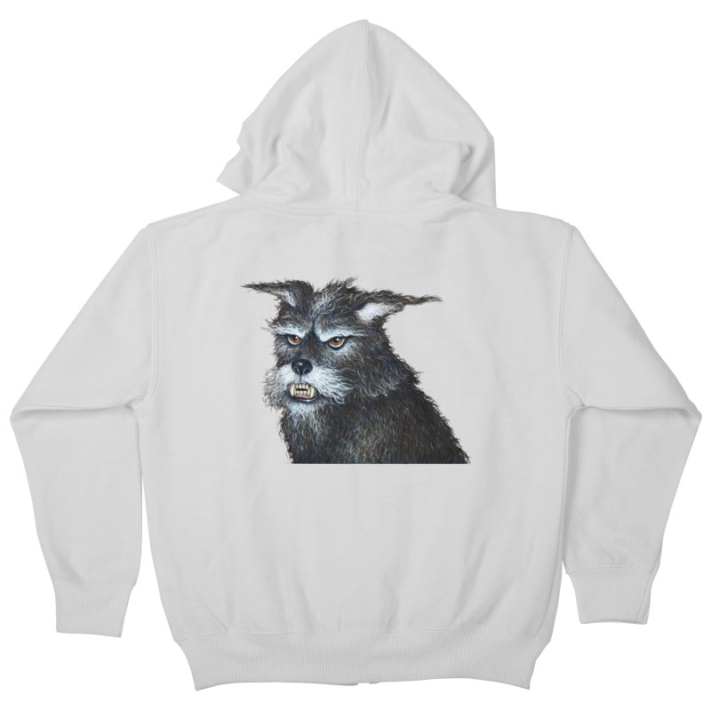 Mad Dog Kids Zip-Up Hoody by richgrote's Shop