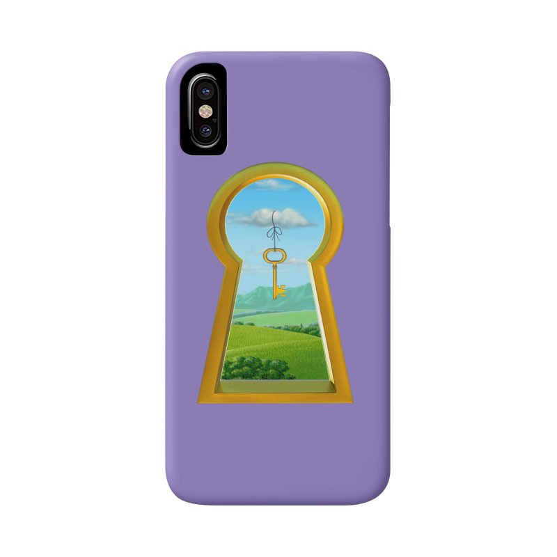 Keyhole Accessories Phone Case by richgrote's Shop