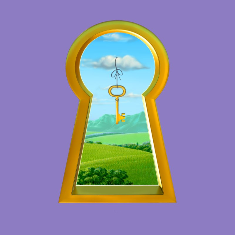 Keyhole by richgrote's Shop
