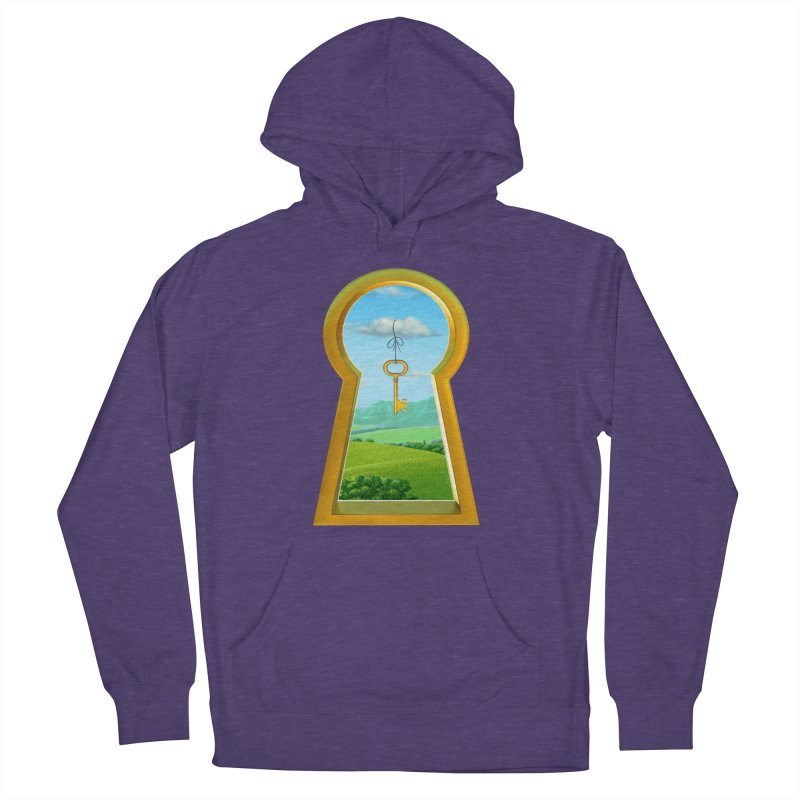 Keyhole Women's French Terry Pullover Hoody by richgrote's Shop
