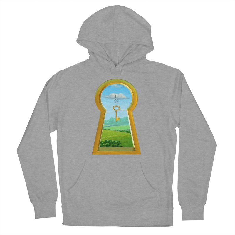 Keyhole Men's French Terry Pullover Hoody by richgrote's Shop