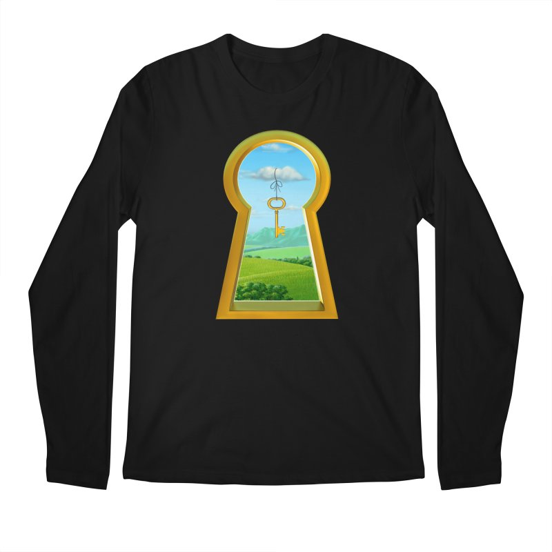 Keyhole Men's Longsleeve T-Shirt by richgrote's Shop